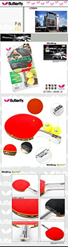 New Butterfly WAKABA20 Shake table tennis Racket paddles Ping pong indoor games