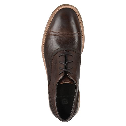 Marc New York De Andrew Marc Hombres Henry Oxford, Espresso Leather, Us 11 M