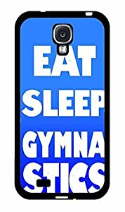 Eat Sleep Gymnastics Plastic Phone Case Back Cover Samsung Galaxy S4 I9500 by icecream design