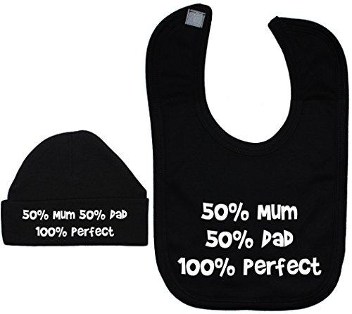 Noir Maman Pour 100 casquette Acce nbsp;à Products Et Parfait 12 Bavoir Papa 50 nbsp;mois 0 Bonnet Bébé 4BwwAqEax