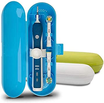 Estuche de viaje para cepillo de dientes eléctrico Oral-B Pro Series, 3 paquetes (blanco, azul y verde): Amazon.es: Salud y cuidado personal