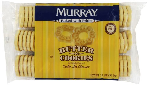 Murray Cookies, Butter, 11 oz Tray(Pack of 12) -
