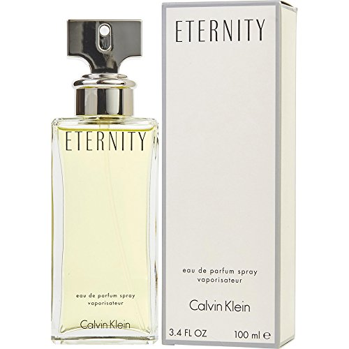CK Eternity women Eau De Parfum Spray 3.4 OZ./ 100 ml. (Eternity For Women)
