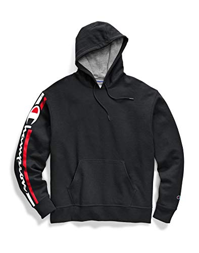 Champion Men's Graphic Powerblend Fleece Hood 1