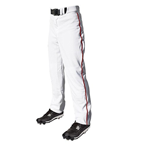 C6 Pro Series Youth Open Bottom Baseball Pants with Piping