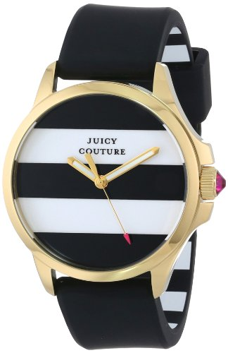 Juicy Couture Women's Black Silicone Strap Watch - 4