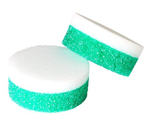 Stone Soft (Universal Stone - Extra Strong & Extra Soft Dual Sponges. Odor-Resistant Sponge. 4-Pack)