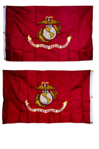 embroidered marine corps usmc double