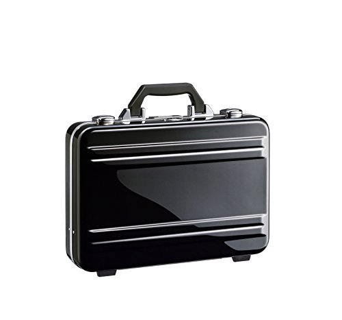 Zero Halliburton 2.0 Small Classic Framed Polycarbonate Attaché Briefcase, Black, One Size by ZERO Halliburton