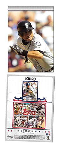 2008 Topps Opening Day Puzzle - SEATTLE MARINERS