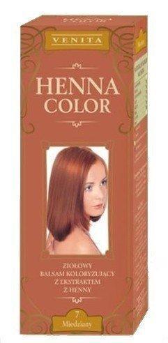 Henne Color 7 Rame Balsamo Per Capelli Colore Capelli