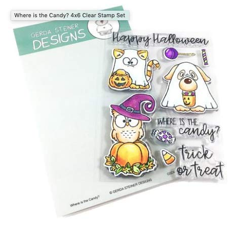 Where is The Candy? 4x6 Clear Stamp Set ()