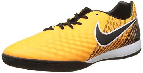 Nike Herren Magistax Onda II IC Fußballschuhe Orange (Laser Orange/black-white-volt)