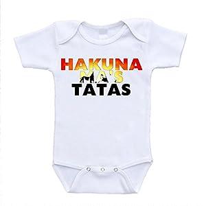 Hakuna Mas Tatas Ma's Lion King Parody Hilarious Bodysuit Onesies