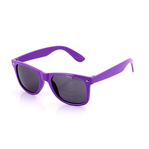 8fb3f261ab2de SCLM Wayfarer 80 s Style Sunglasses 10 Bulk Pack Lot Neon - Import It All