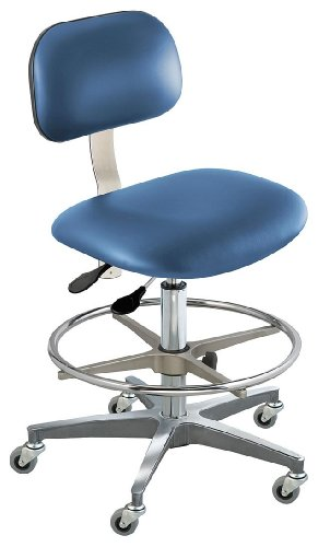 - BioFit - BTC-M-R-ATF-1000-AV106 - Upholstered Vinyl Ergonomic Chair with 19 to 26 Seat Height Range and 300 lb. Weight Capacity, Roy