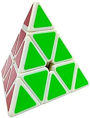 EUROXANTY-Pirámide Cubo Mágico | Puzzle Inteligente | Rompecabezas | Juegos Clásicos