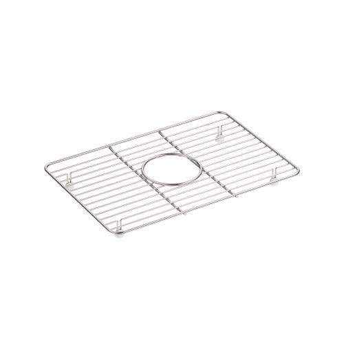 KOHLER 5376-ST Kennon Small Stainless Steel Sink Rack, 10-5/8'' x 15-9/16'', Stainless Steel