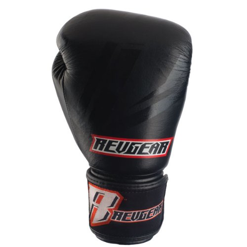 Revgear Original Leather Boxing Gloves (12-Ounce) (Revgear Boxing Gloves 12oz)