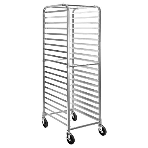 GRIDMANN Commercial Bun Pan Bakery Rack - 20 Sheet (Steam Table Pan Rack)