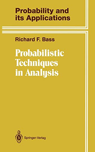 Probabilistic Techniques in Analysis (Probability and Its Applications)