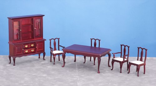 Dollhouse Dining Room Set 6 Pieces
