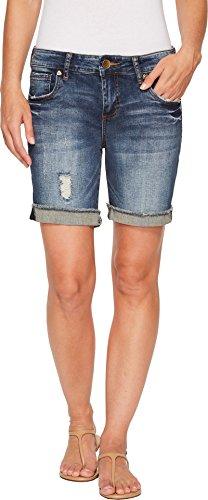 Boyfriend Shorts - KUT from the Kloth Women's Catherine Boyfriend Short, Actualize, 2