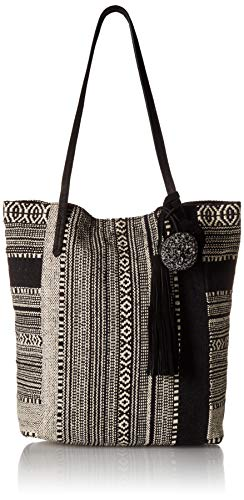 Lucky CORA Tote, Black/Ivory ()