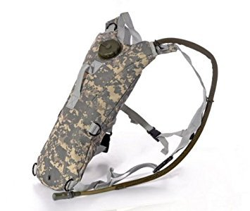 Ultimate Arms Gear Tactical Hydration Backpack With 3 Liter Watter Bladder & Hosing - ACU Army Digital by Ultimate Arms Gear