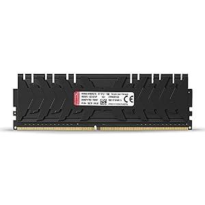 HyperX Kingston 16GB 3200MHZ DDR4 CL16 DIMM (KIT of 2) XMP Predator (HX432C16PB3K2/16) - 16GB Kit (2 x 8GB), Black