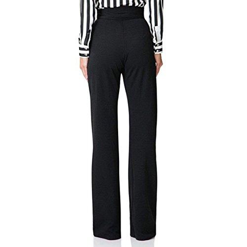 Mujer Pantalones De Traje Fashion Cintura Alta Unicolor Pantalones ...