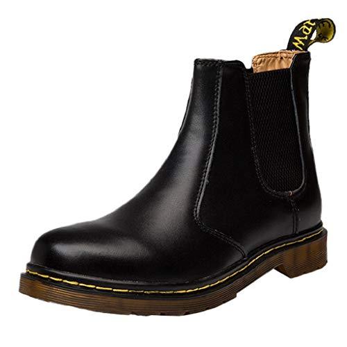 (Creazrise Womens Anti Slip Ankle Rain Boots Waterproof Slip On Rain Shoes Elastic Chelsea Black Rain Booties (Brown,7))