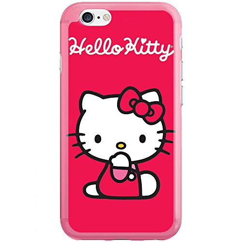 [Ashley Cases] TPU Clear Skin Cover Case for iPhone 5/5S - Hello Kitty - Hello 5s Case Kitty