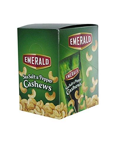 Emerald Sea Salt Pepper Cashews