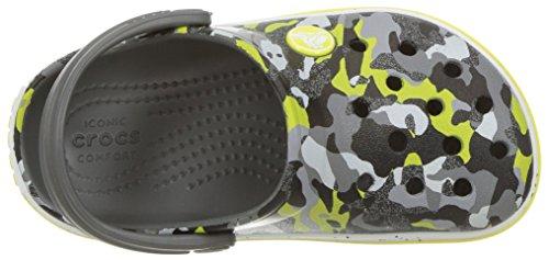 Crocs Unisex-Kids Crocband Camo Speck K Clog, Graphite/Camo, 12 M US Little Kid by Crocs (Image #8)