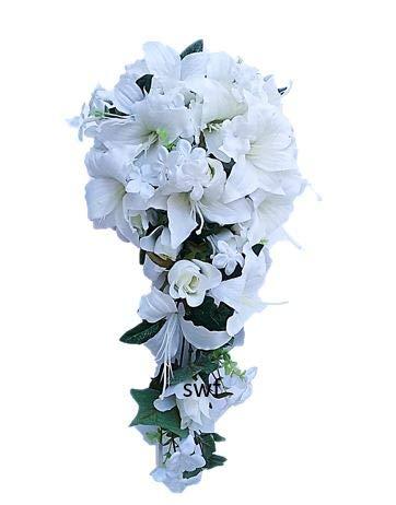 Teardrop Bridal Bouquet - Wedding Flowers 23