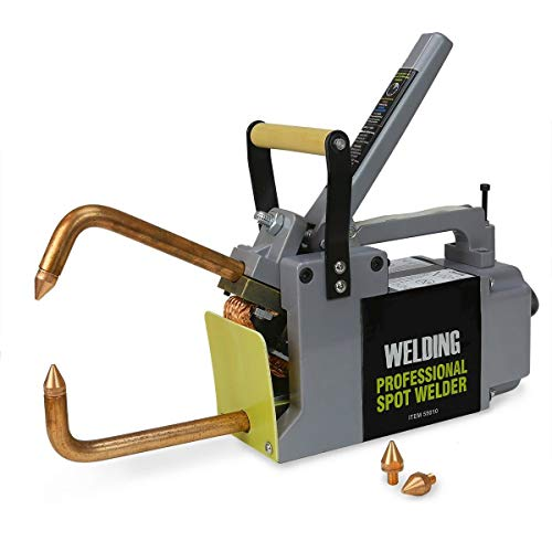 Stark Professional Electric 240 Volt Portable Spot Welder Machine Welding Systems DIY Welding Tips with Handle (Best Diy Tig Welder)