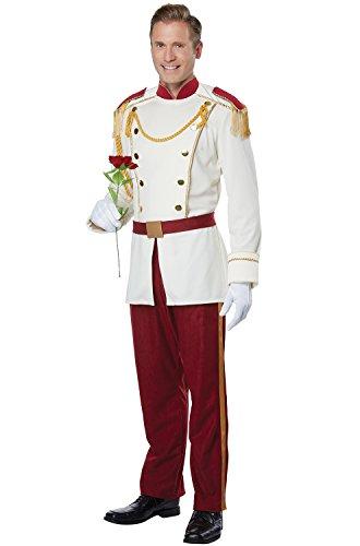 Mens Royal Storybook Prince Costume Large (Prince Costume Men)