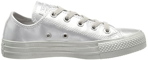 Converse Unisex Adults' Chuck Taylor All Star Trainers, 5.5 UK Silver (Silver/Silver/Silver 040)