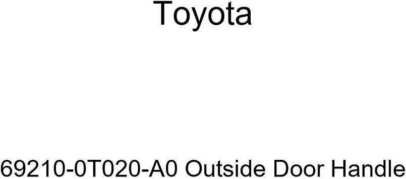 Toyota 69210-0T020-A0 Outside Door Handle
