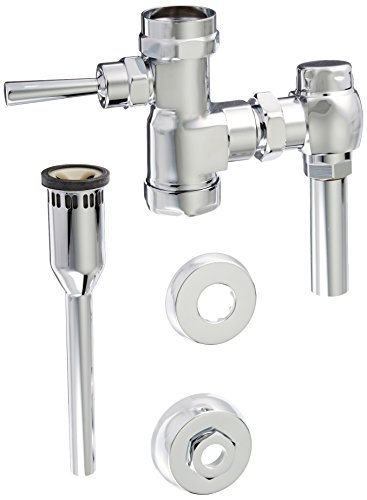 American Standard 6045510.002 1.0 GPF Manual FloWise Urinal Flush Valve, Chrome