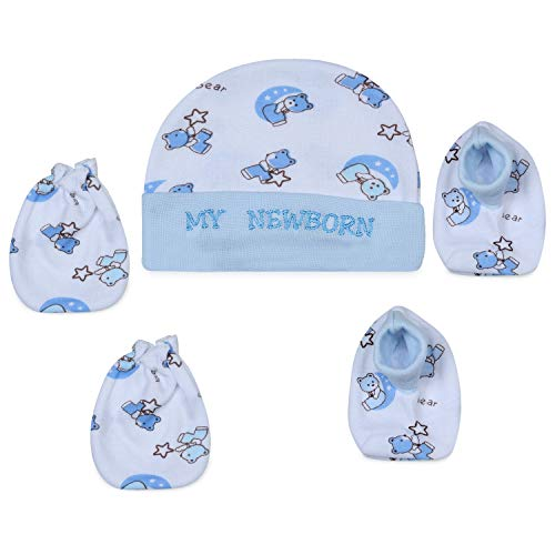 My Newborn Baby Mitten Cap and Booty Set – Set of 3 Packs