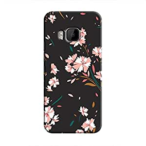 Cover It Up Flower Bunch Hard Case For HTC M9