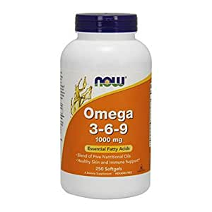 Now Foods, Omega 3-6-9 - 1000mg x250caps