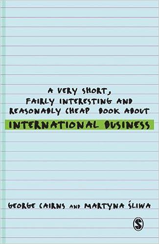 A Very Short, Fairly Interesting and Reasonably Cheap Book