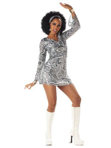 California Costumes Women's Disco Diva, As Shown, X-Large (12-14) Costume ()