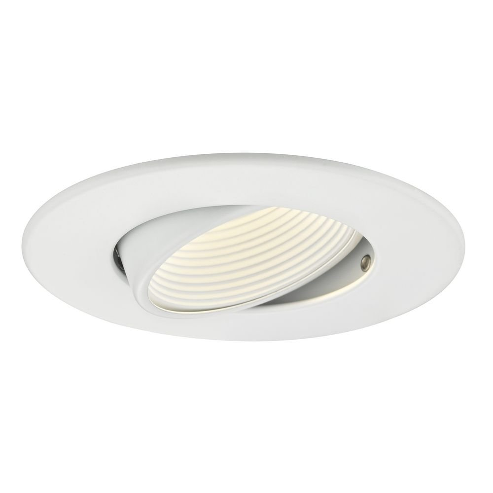 GU10 Adjustable Recessed Trim with White Baffle for 3.5-Inch Recessed Cans by Dolan Designs (Image #3)