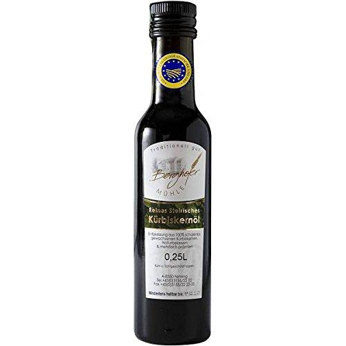 Kürbiskernöl aus der Steiermark in Premium-Qualität, 250 ml
