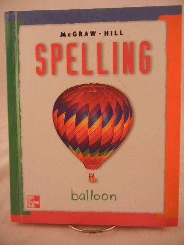McGraw-Hill Spelling Grade 3 Balloon