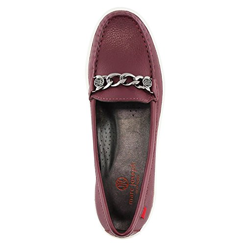 Women's York Atlantic Driving Style Brazil Leather Loafer Marc Grainy Joseph in New Merlot Made tqnfU